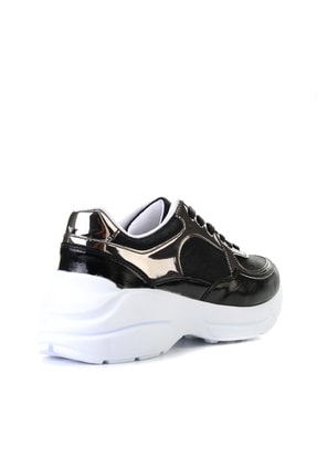 Bambi Siyah/siy.çup Kadın Sneaker L0603556109 3