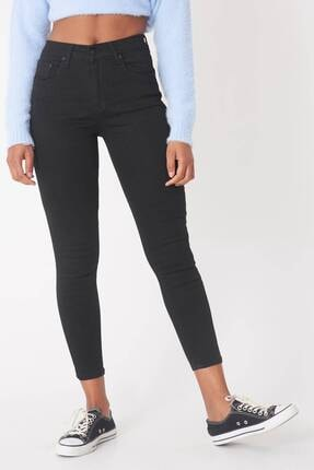 Addax Kadın Siyah Yüksek Bel Pantolon Pn5400 - H8H10 Adx-0000013883 3
