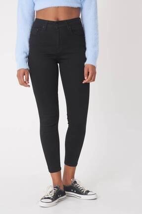 Addax Kadın Siyah Yüksek Bel Pantolon Pn5400 - H8H10 Adx-0000013883 4