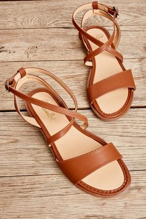 Bambi Taba Kadın Sandalet L0652071109 1