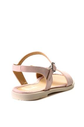 Bambi Pudra Süet Kadın Sandalet L0652071265 3