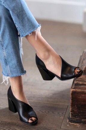 Mio Gusto Eva Siyah Topuklu Ayakkabı 0