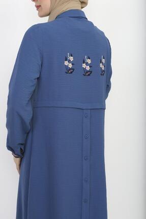 Sitare Arkası Nakışlı Ve Düğmeli Tunik 20y2567 4