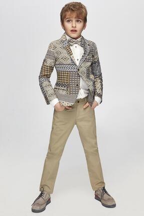 Erkek Çocuk Bej Pantolon resmi