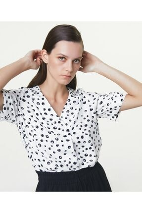 İpekyol Desenli Bluz 1