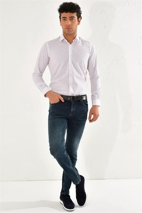 Efor 061 Slim Fit Mavi Jean Pantolon 1