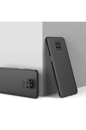 Telefon Aksesuarları Redmi Note 9 Pro Sert Silikon Kapak Siyah 0