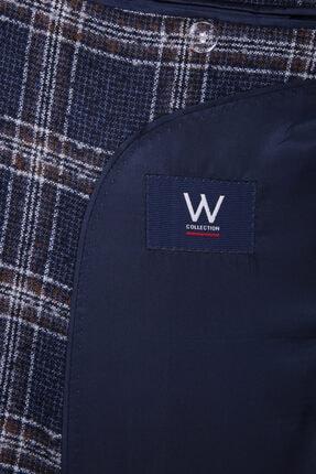 W Collection Lacivert Bukle Blazer 2