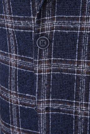 W Collection Lacivert Bukle Blazer 3
