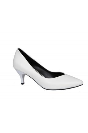 MİSS PARK MODA K613 Beyaz Kadın Stiletto 1