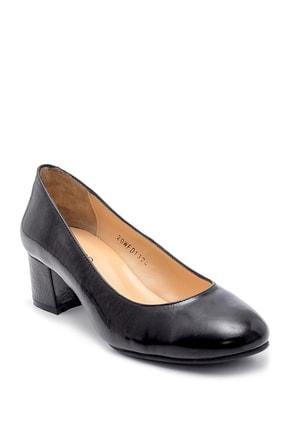 Derimod Kadın Deri Kalın Topuklu Ayakkabı 1