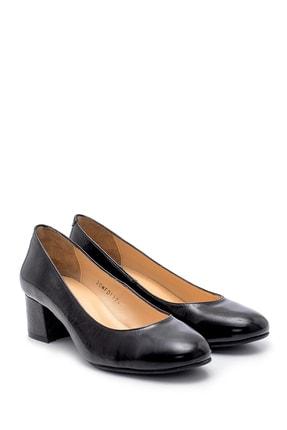 Derimod Kadın Deri Kalın Topuklu Ayakkabı 4