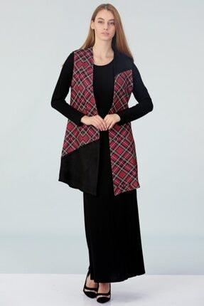 Güzey Yelek Elbise Ikili Takım - Siyah 1