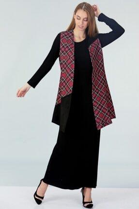 Güzey Yelek Elbise Ikili Takım - Siyah 2