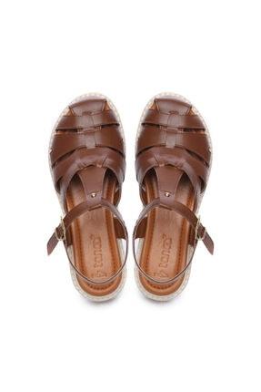 Kemal Tanca Kadın Derı Sandalet Sandalet 169 51907 Bn Sndlt 3