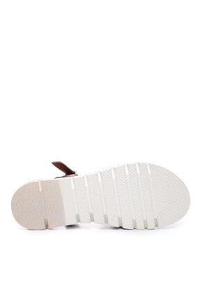 Kemal Tanca Kadın Derı Sandalet Sandalet 169 51907 Bn Sndlt 4