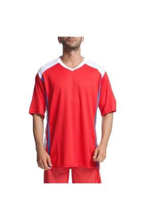 Bronco Erkek Kırmızı Basketbol Forma 500073-kbx resmi