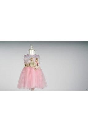 Elayza Çiçekli Elbise 0
