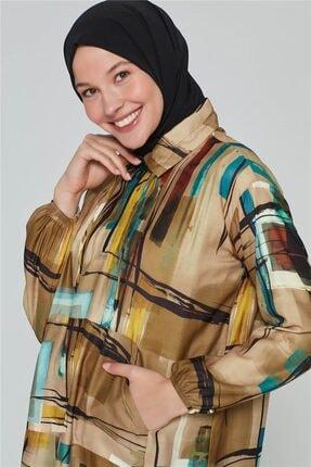 Armine Kadın Yeşili Yağ Bluz 20k3908 1