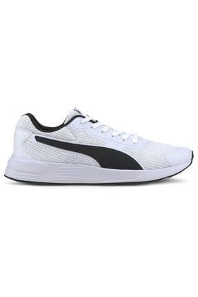 Puma TAPER Beyaz Erkek Koşu Ayakkabısı 100654887 0