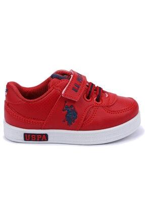 US Polo Assn CAMERON 1FX Kırmızı Erkek Çocuk Sneaker 100909777 2
