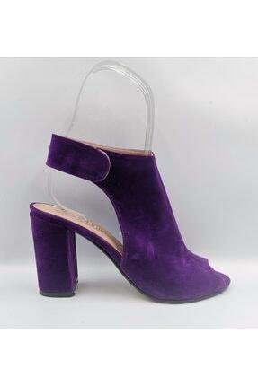 Nihat Bakan Mor Topuklu Kadın Ayakkabı MOR TOPULU KADIN AYAKKABI