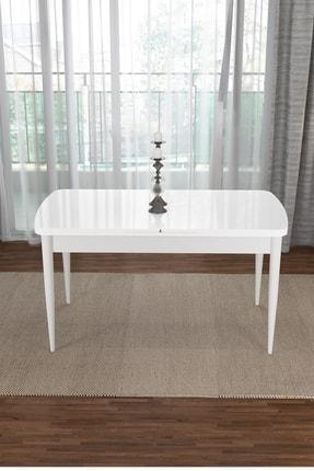 Canisa Concept Via Serisi Beyaz Açılabilir Mutfak Masası 0