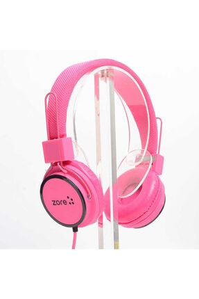 Zore Kulaküstü Kulaklık Headset Renkli Yumuşak Band Hd Stereo 3.5mm Kulaklık Y-6338 0