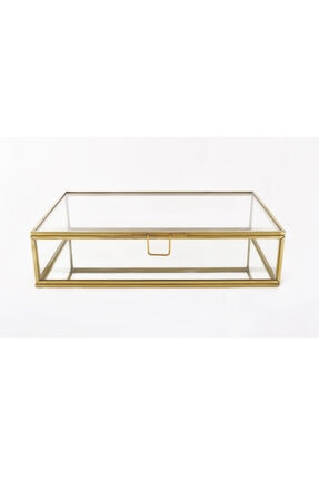 EsaDesign Cam Gold Takı Nişan Aksesuar Kutusu 0