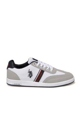 US Polo Assn KARES 1FX Beyaz Erkek Sneaker Ayakkabı 100910452 1