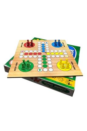 ANS TOYS Ahşap Kızma Birader Kutu Oyunu 0
