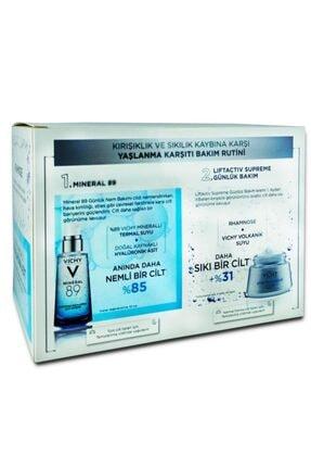 Vichy Liftactiv Supreme Normal - Karma Cream & Mineral 89 30 Ml %50 Indirimli Avantajlı Set 2