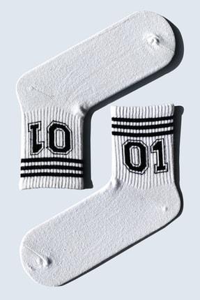 CARNAVAL SOCKS 7'li Fuck Off Serili Atletik Set Çorap 1025 4