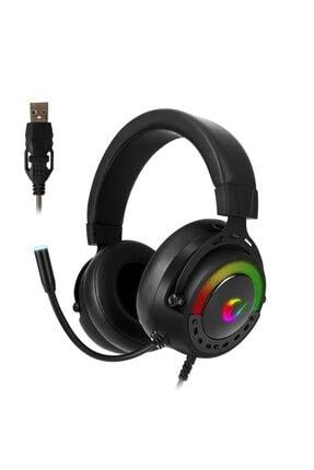 Rampage Bygame-x1 Siyah Usb 7.1 Surround Rgb Ledli Gaming Mikrofonlu Oyuncu Kulaklığı 0