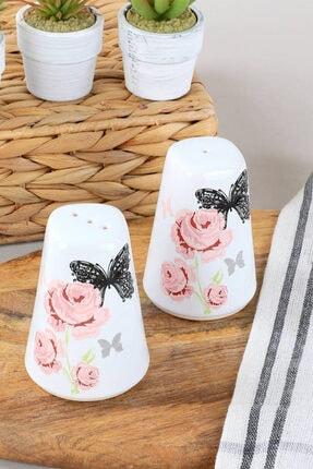 Keramika Gül Trend Tuzluk-Biberlik 2 Parça 0
