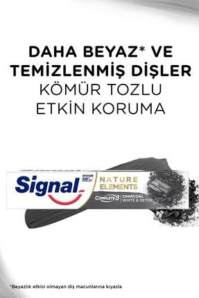 Signal Nature Elements Diş Macunu Kömür 75 ml X 2 2