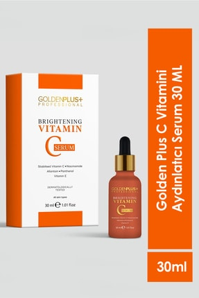 GoldenPlus C Vitamini Aydınlatıcı Serum 30 ml 1