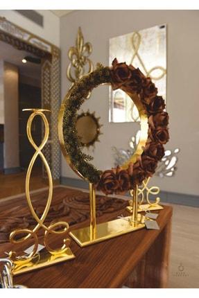 Metal Şamdan 2li/dekoratif Şamdan/mumluk ŞAMDAN