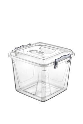 Nethome Şeffaf Saklama Kabı Kiler Box 6 litre 0