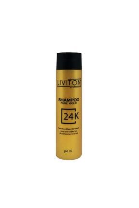 Liviton Professional Liviton 24k Gold Serisi Altın Saç Şampuanı 0