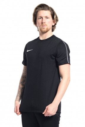 Nike Erkek  Kısakol Tişört Dry Park Jsy Siyah 3