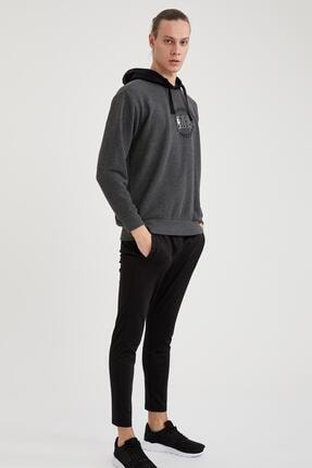 Defacto Erkek Nba Lisanslı Unisex Oversize Fit Kapüşonlu Sweatshirt 1
