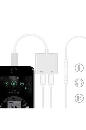 zabata 2in1 Iphone Lightning Şarj Kulaklık Dönüştürücü Çevirici Soket Çoğaltıcı Çoklayıcı 2