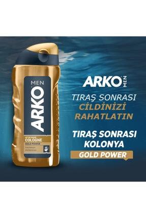 Arko Men Tıraş Kolonyası 250 Ml Gold Power 1