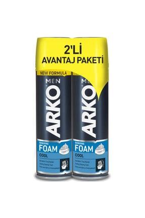 Arko Men Men Tıraş Köpüğü Cool 200 Ml 2 Li Avantaj Paketi 0