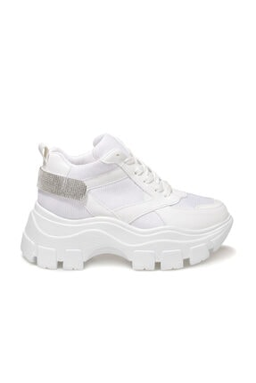 Butigo Brad Beyaz Kadın Sneaker Bot 0