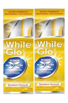 White Glo Diş Beyazlatıcı Diş Macunu Avantaj Paket X 2 Adet 0