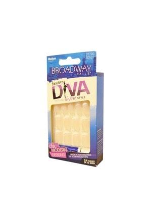 Broadway Takma Tırnak Seti Tırnak Yapıştırıcılı - Bdn01 - 73150901790 0