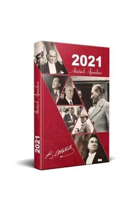 Halk Kitabevi Kırmızı 2021 Atatürk Ajandası 0