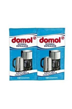 Domol Kettle Kahve Makinesi Kireç Çözücü Toz 2'li Paket 0
